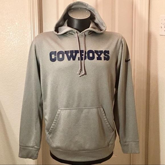 wholesale dealer b60d8 744a4 Dallas Cowboys Nike Dri-Fit Hoodie